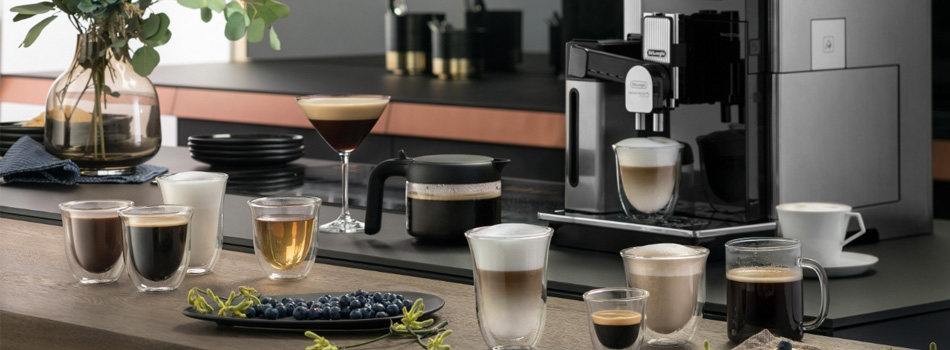 Total Media DeLonghi client - coffee machine image